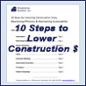 White paper: 10 Ideas for Lowering Construction Costs & Maintaining Sustainability